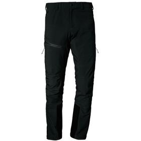 Schöffel Rognon Pantalones Softshell Hombre, negro